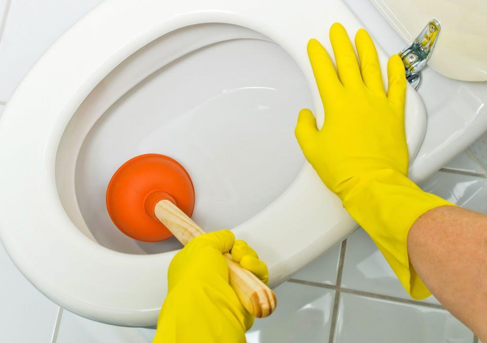 Truques para desentupir vaso sanitário em Curitiba