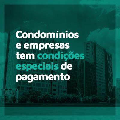 Condomínios e empresas